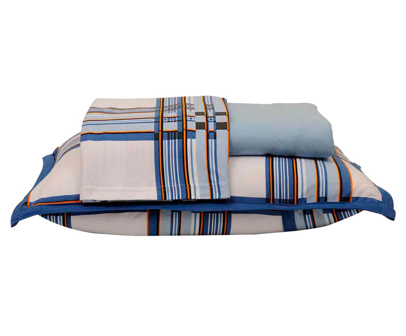 Jogo de lençol bed men - para cama king size | Westwing.com.br