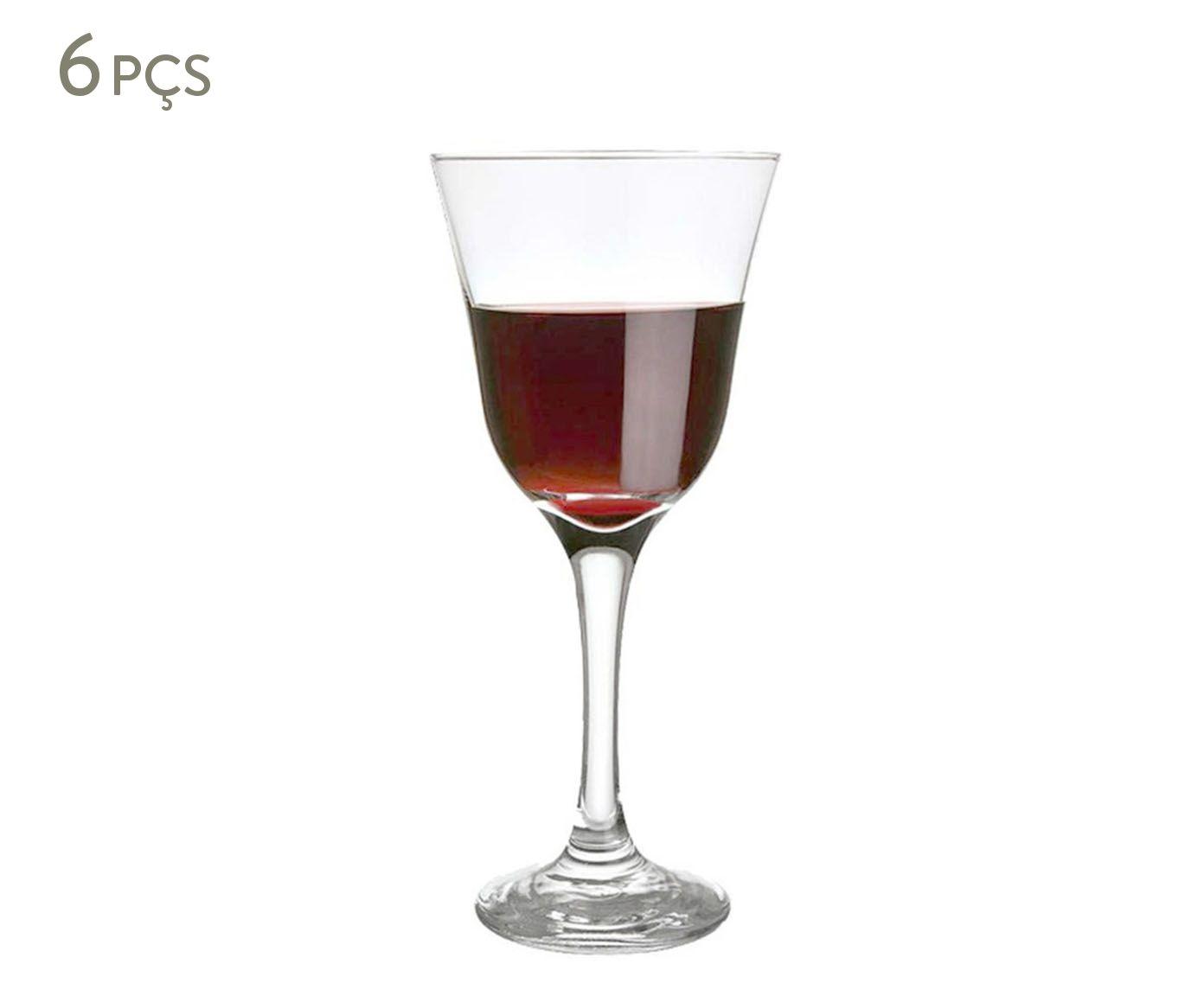 Jogo de Taças para Vinho Tinto Nadir - 250ml | Westwing.com.br