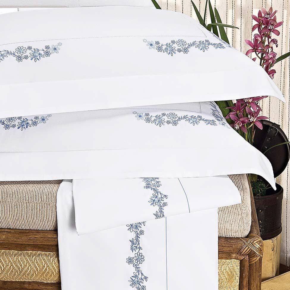 Jogo de lençol anis para cama de casal | Westwing.com.br