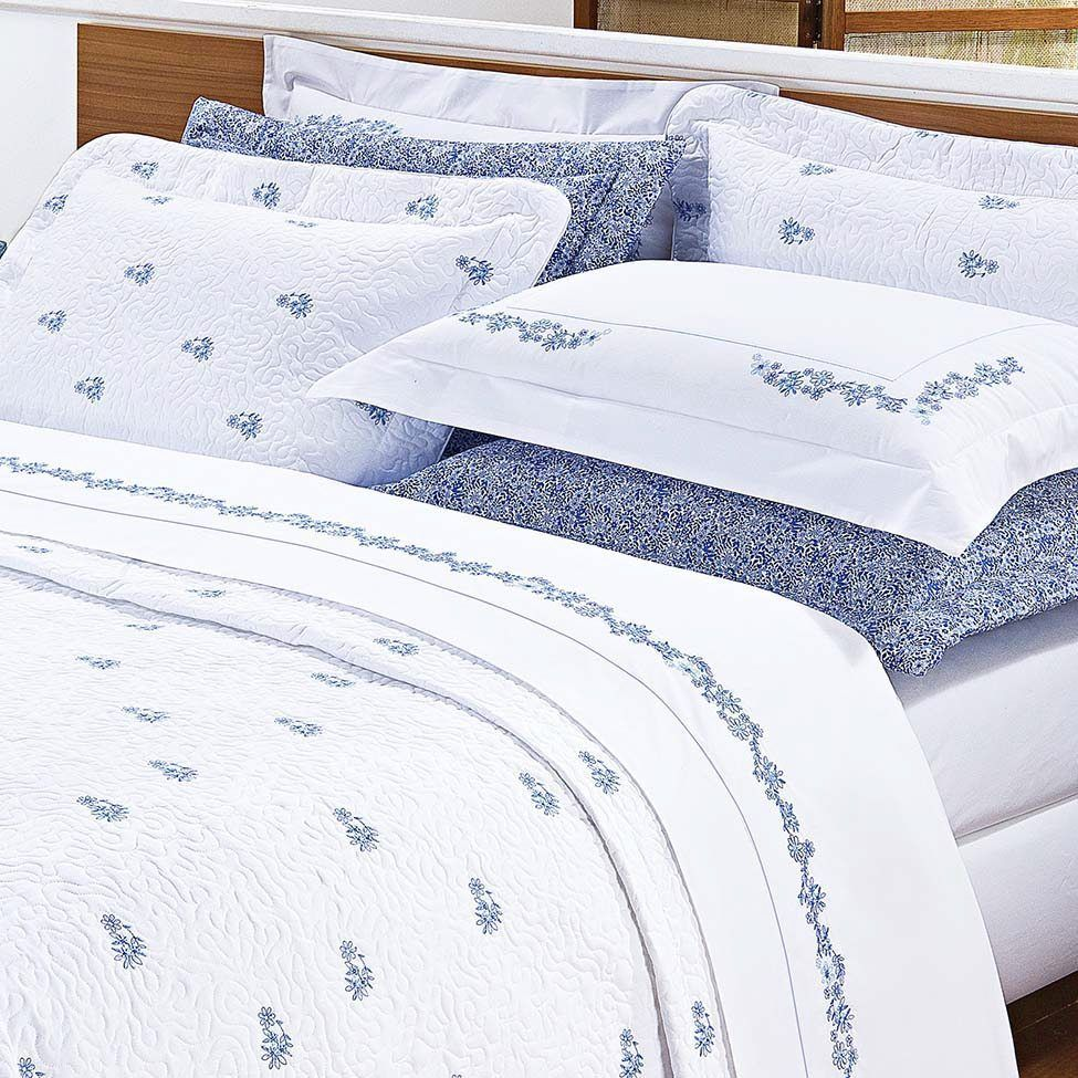 Conjunto de cobre-leito anis para cama queen size   Westwing.com.br