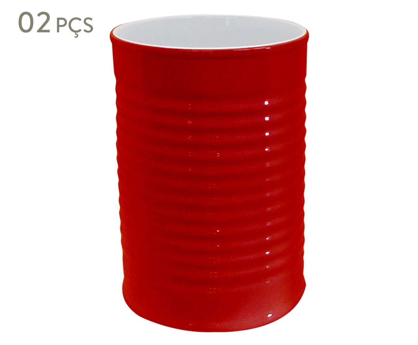 Conjunto de Porta-utensílios Espalier - Rouge 1300 ml | Westwing.com.br