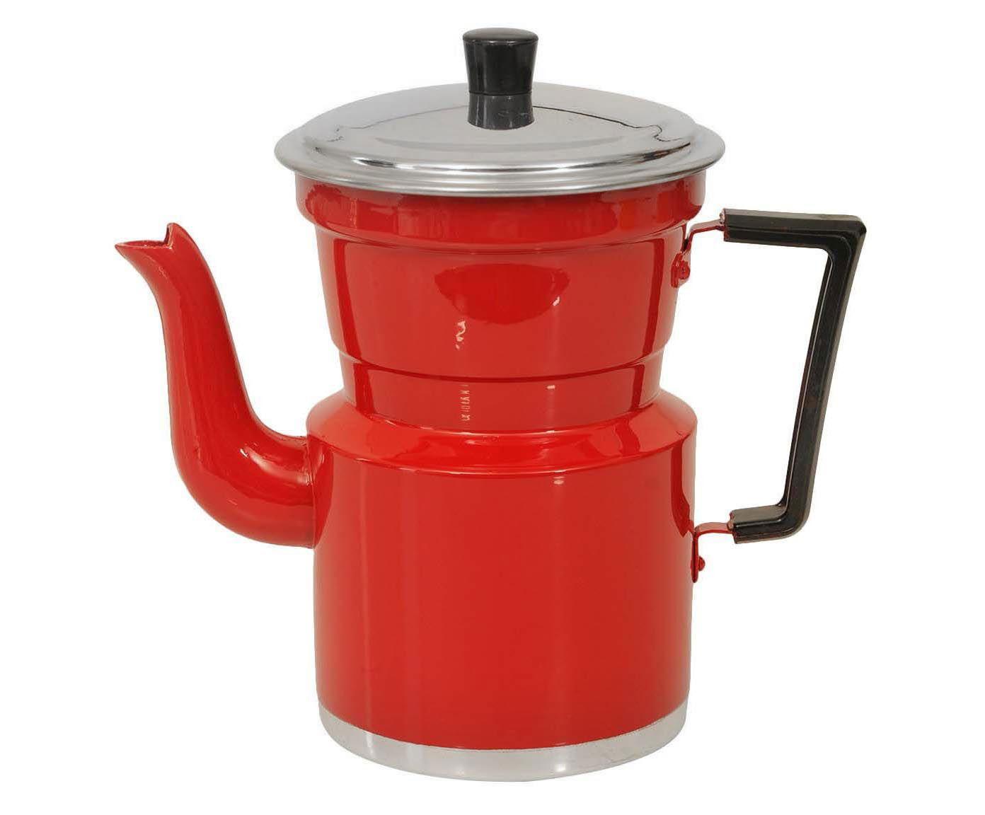 Cafeteira Slim Vermelha - 1,5L   Westwing.com.br