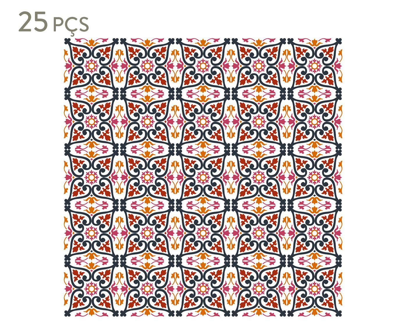 Conjunto de ladrilhos adesivos gean | Westwing.com.br