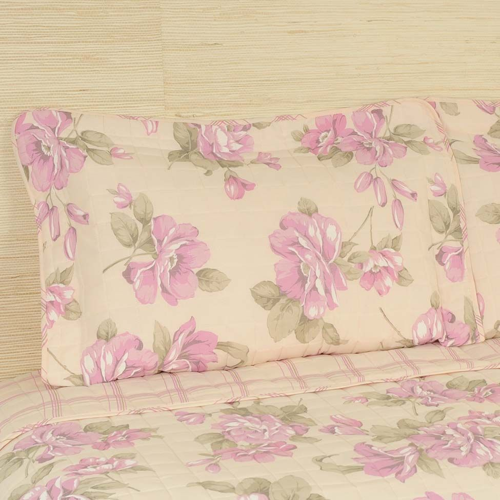 Conjunto de cobre-leito flower p/ queen size 150 fios - effect   Westwing.com.br