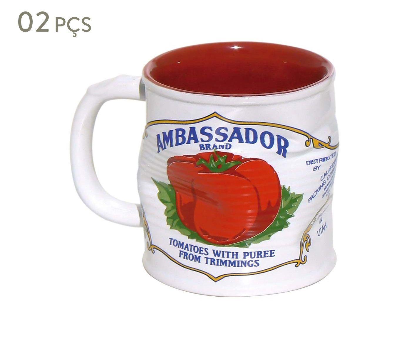 Conjunto de Canecas Smashed ambassador - 320 ml | Westwing.com.br