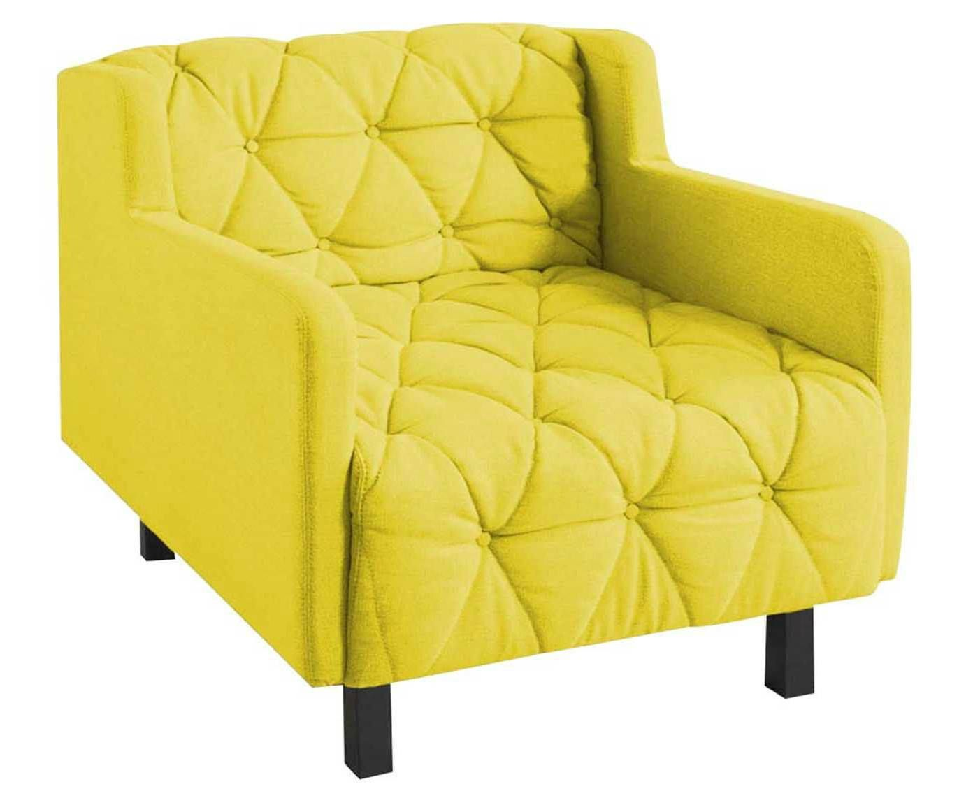 Poltrona coroa baixa amarelo - marcelo rosenbaum | Westwing.com.br