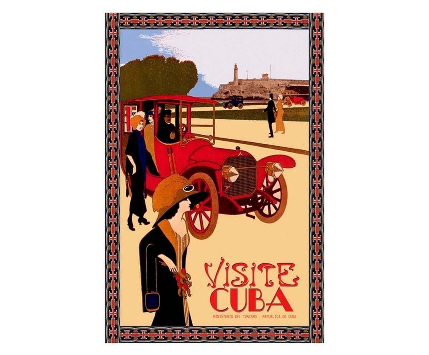 Gravura visite cuba | Westwing.com.br