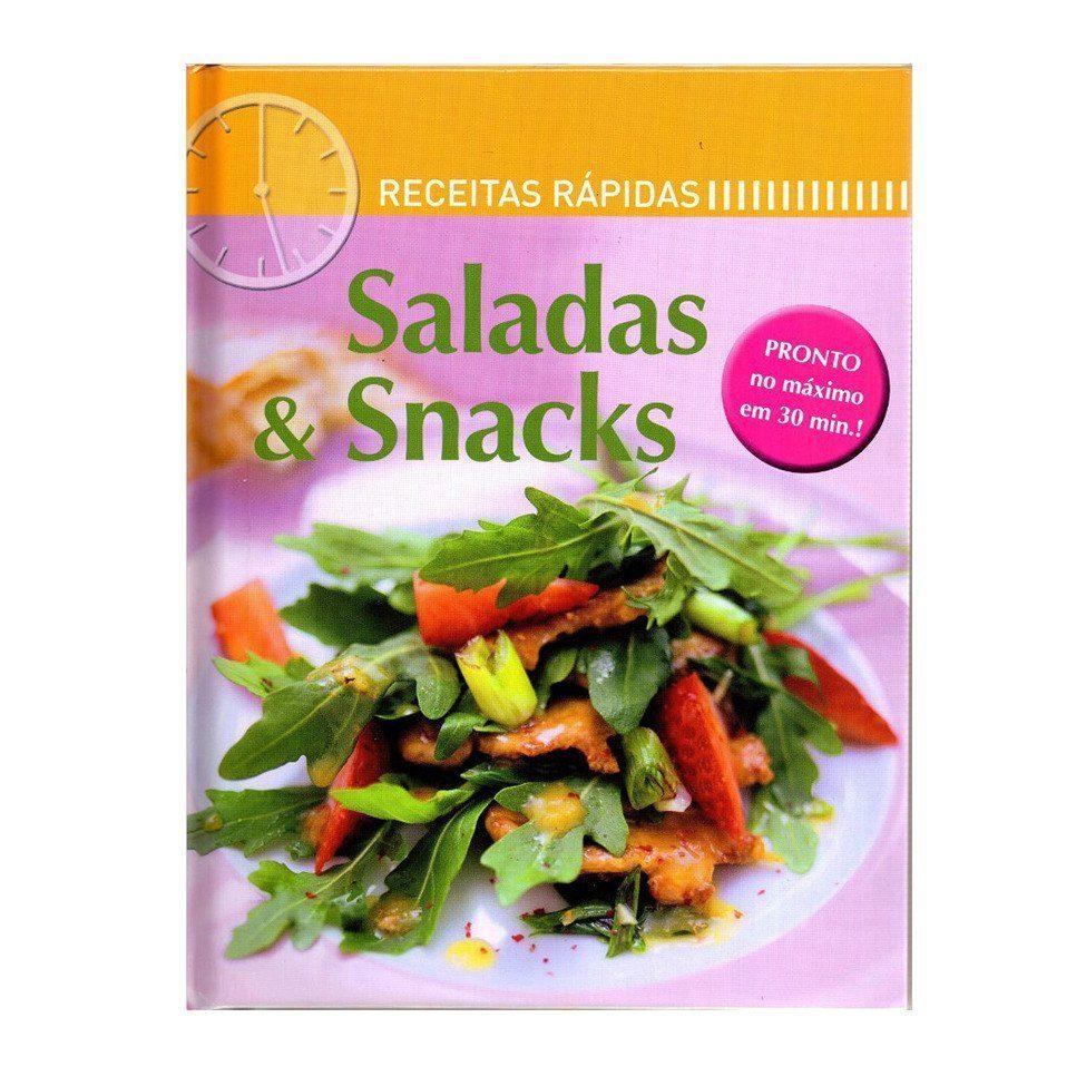 Livro receitas rápidas - saladas e snacks | Westwing.com.br