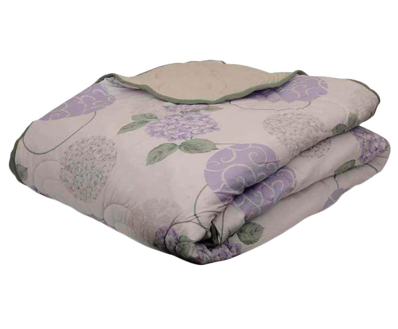 Edredom hortência - para cama de casal   Westwing.com.br