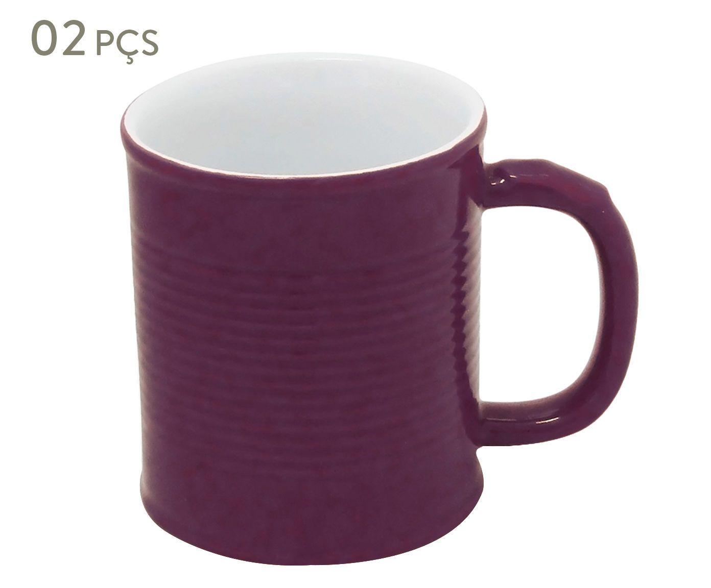 Conjunto de Canecas Espalier effect - 250 ml | Westwing.com.br
