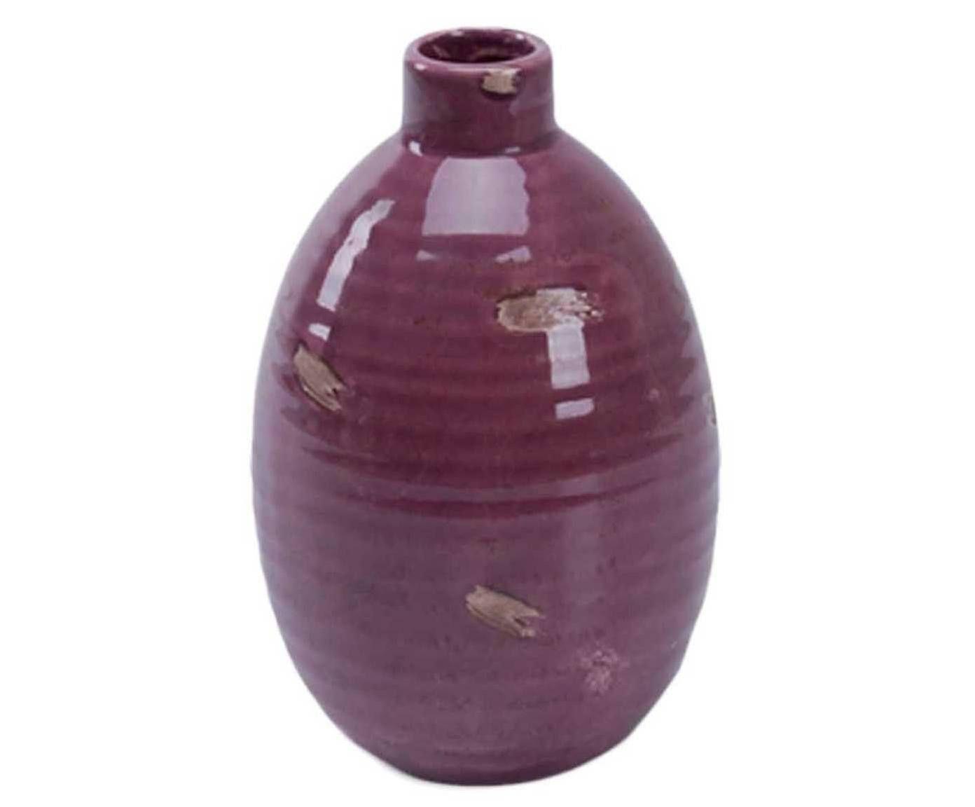Vaso Bagile Roxo - 18cm | Westwing.com.br