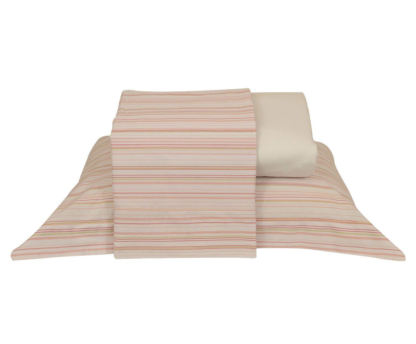 Jogo de lençol nobre para cama de casal 200 fios   Westwing.com.br