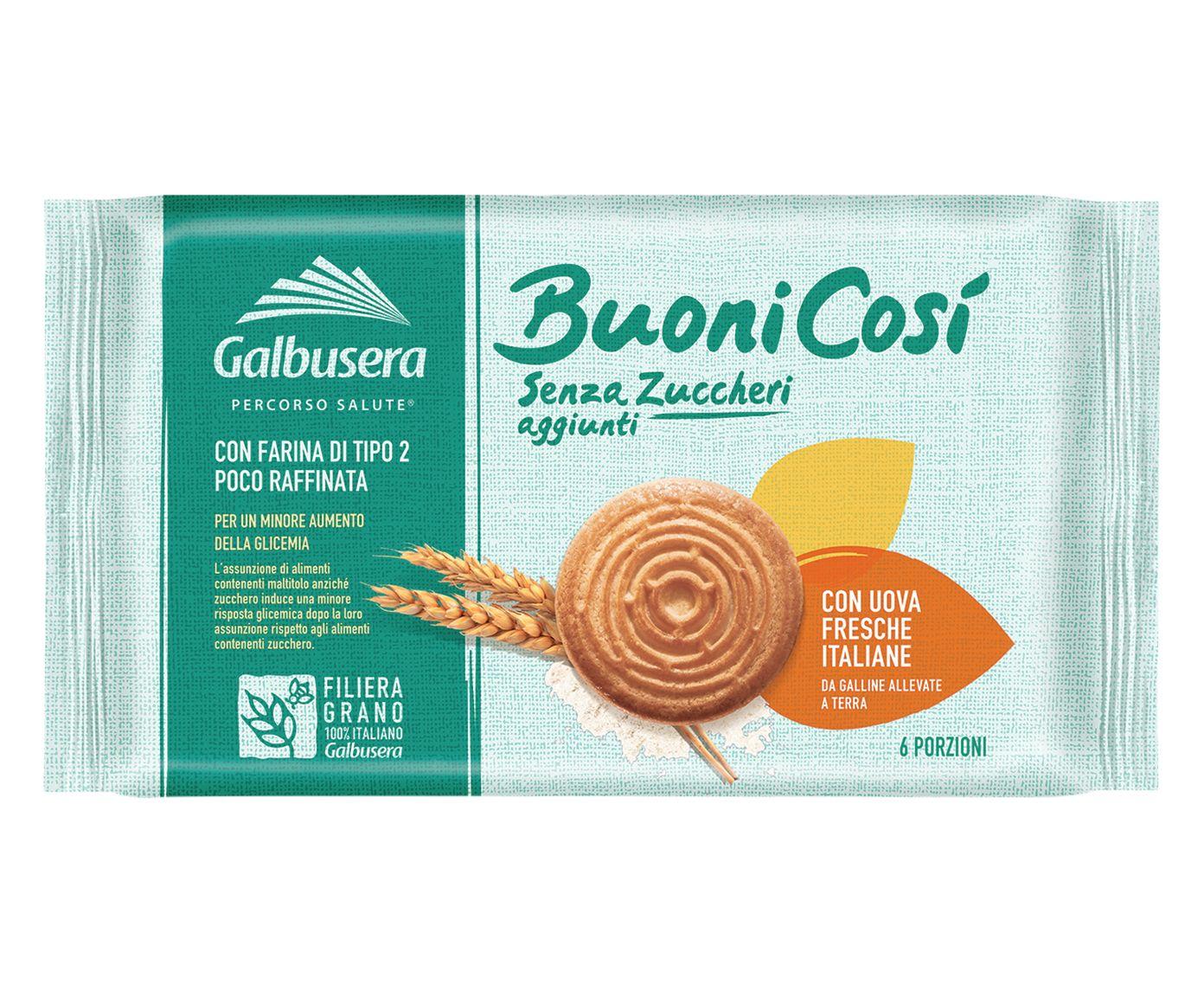 Biscoitos Amanteigados sem Açúcar Buono Cosi - 330G | Westwing.com.br