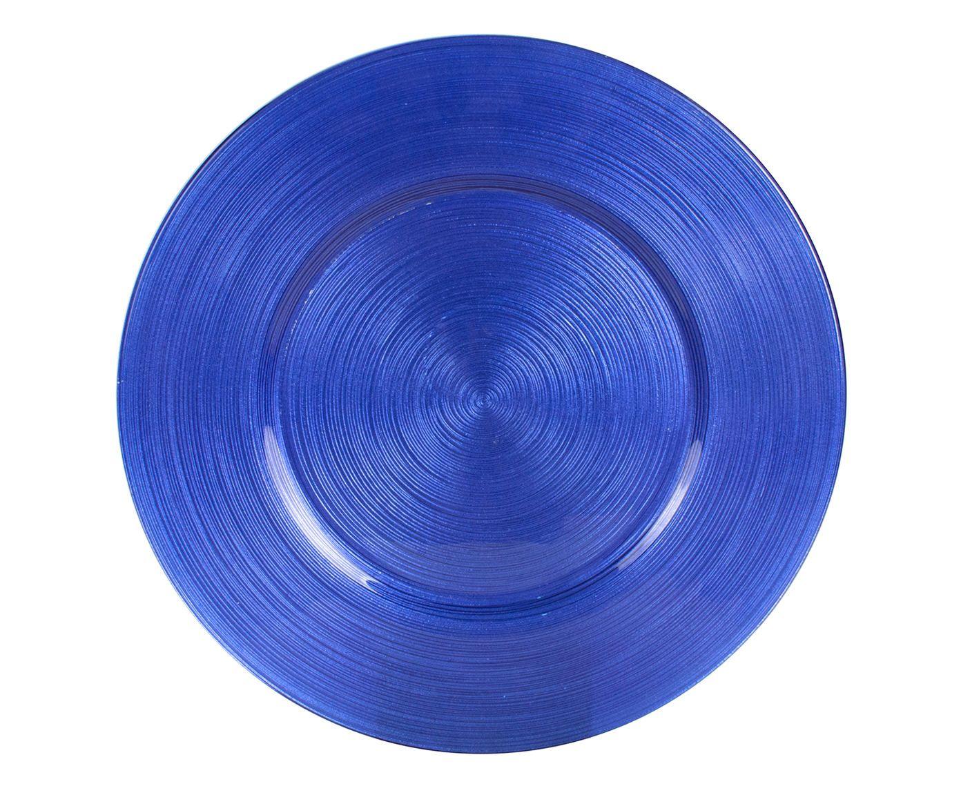 Sousplat Circlea Azul - 33cm | Westwing.com.br