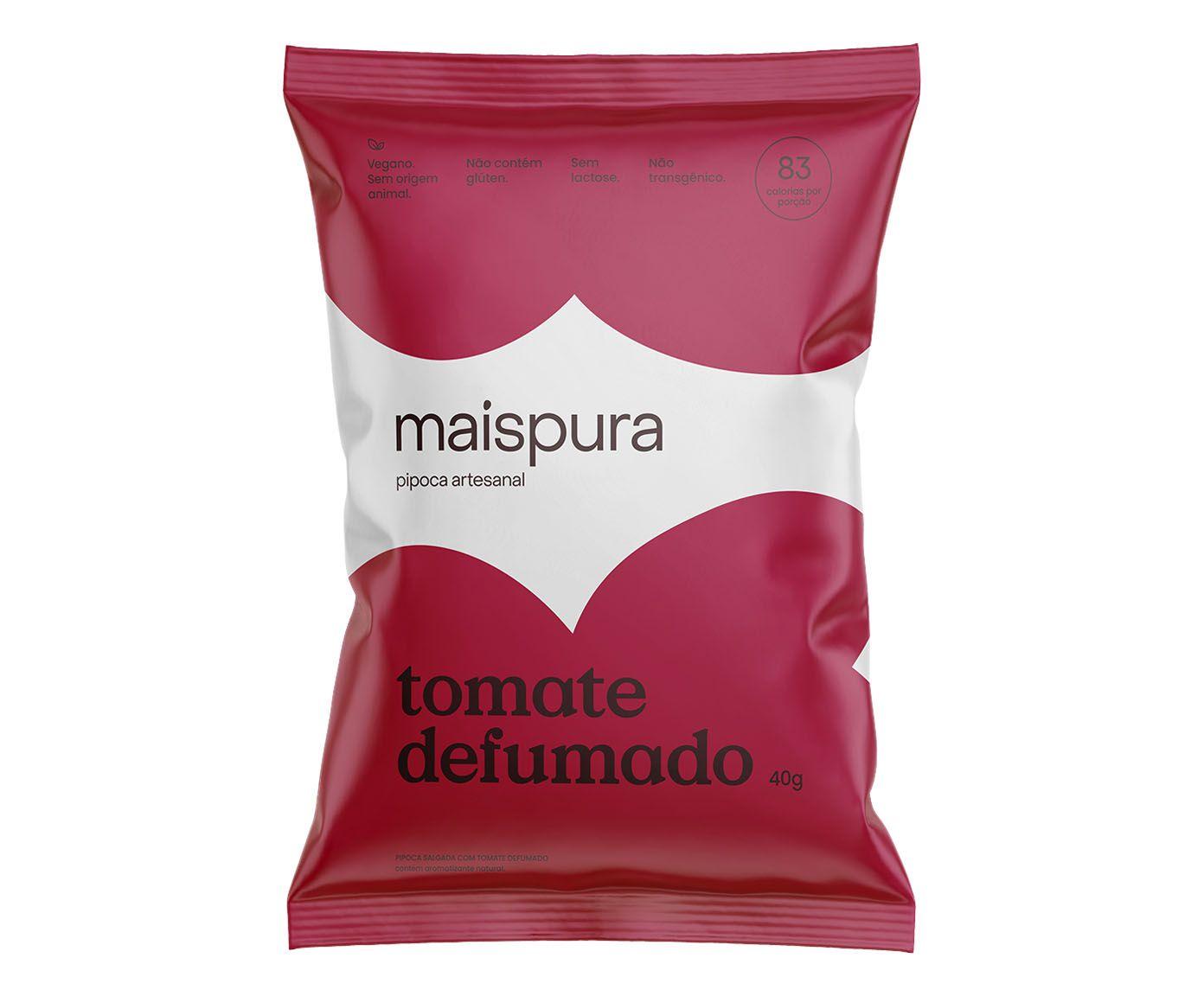 Pipoca Artesanal Mais Pura Tomate Defumado - 50G   Westwing.com.br