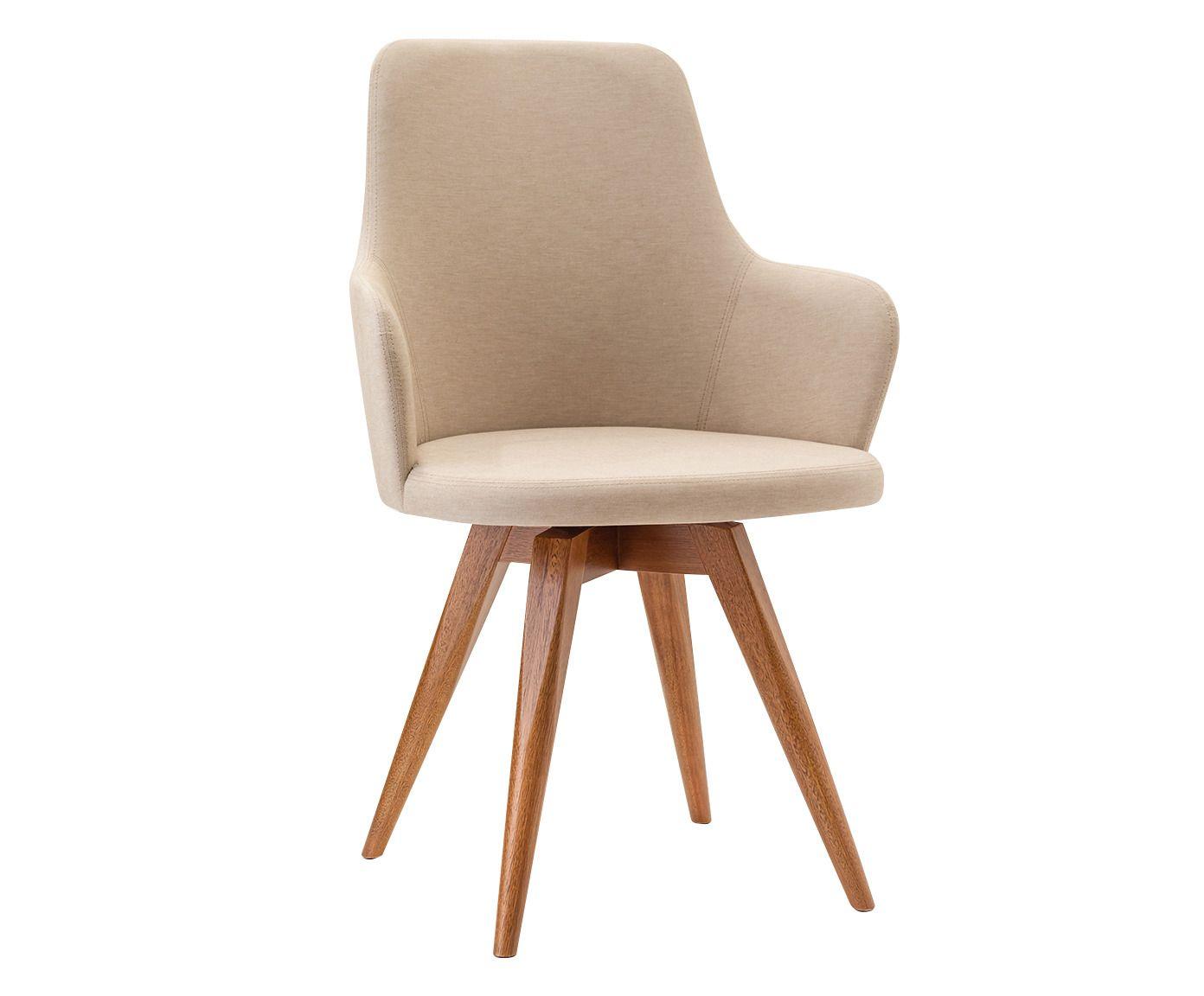 Cadeira Amy Bege - 53X91X55cm   Westwing.com.br
