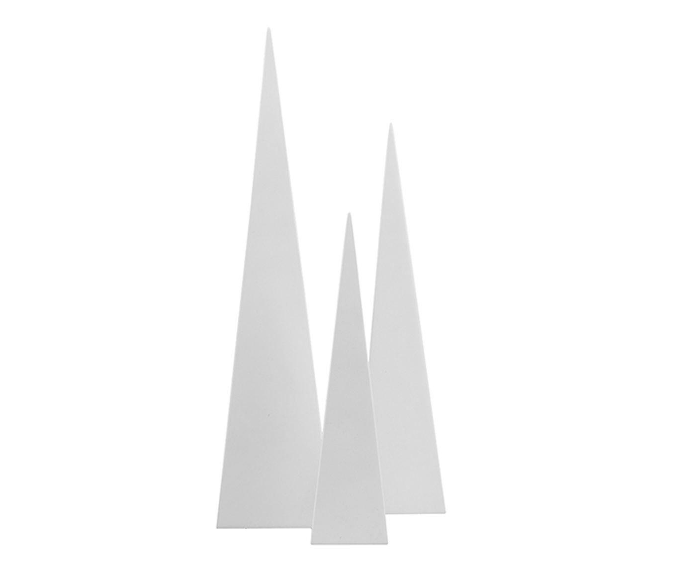 Jogo de Adornos Obelisco - Branco | Westwing.com.br