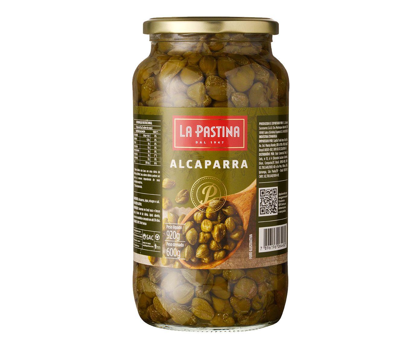 Alcaparras em Coserva La Pastina - 920G | Westwing.com.br