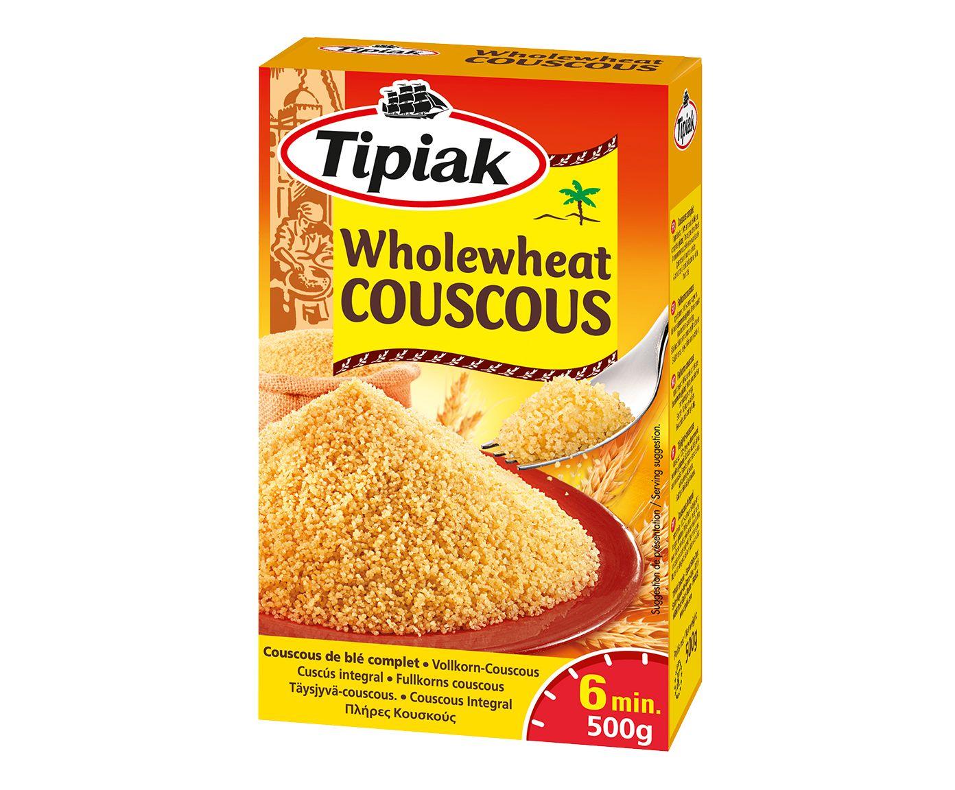 Couscous Francês Tipiak Wholewheat - 500G | Westwing.com.br