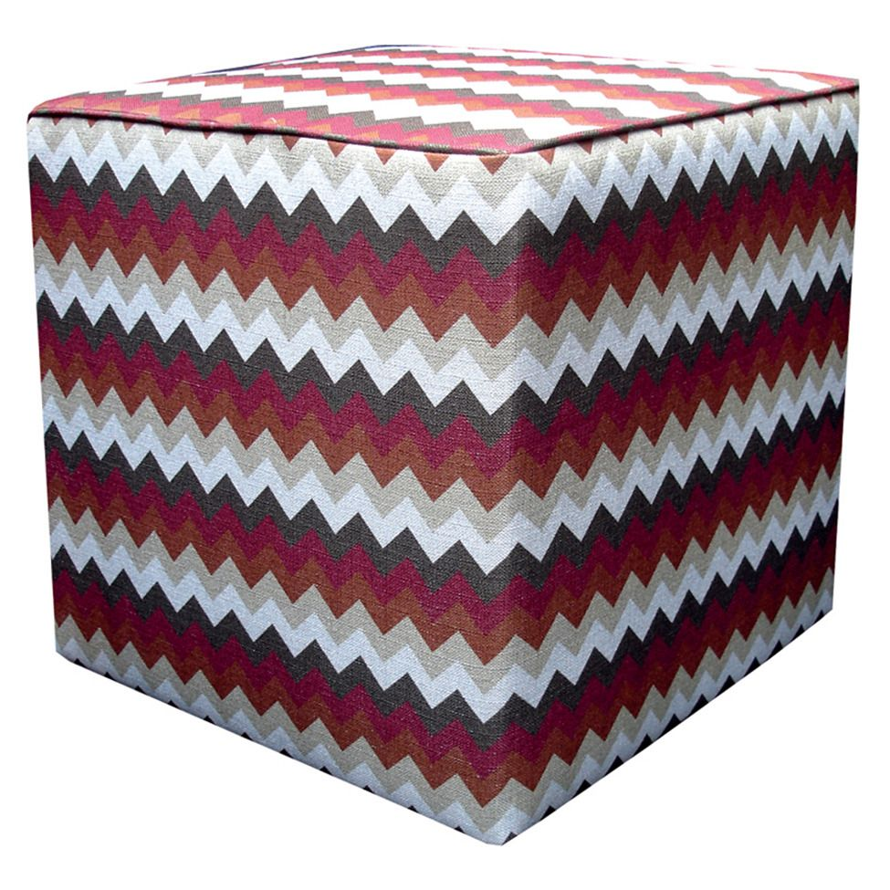 Pufe zig-zag - rouge union | Westwing.com.br