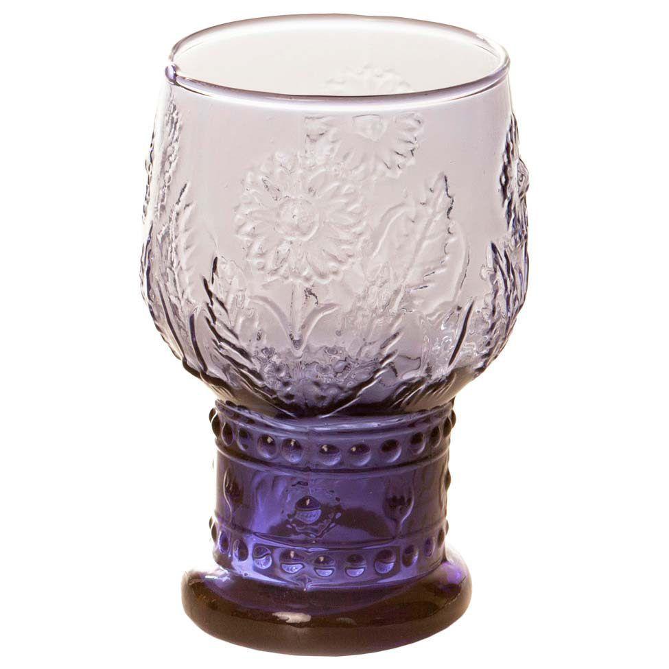 Conjunto de taças para água girassol   Westwing.com.br