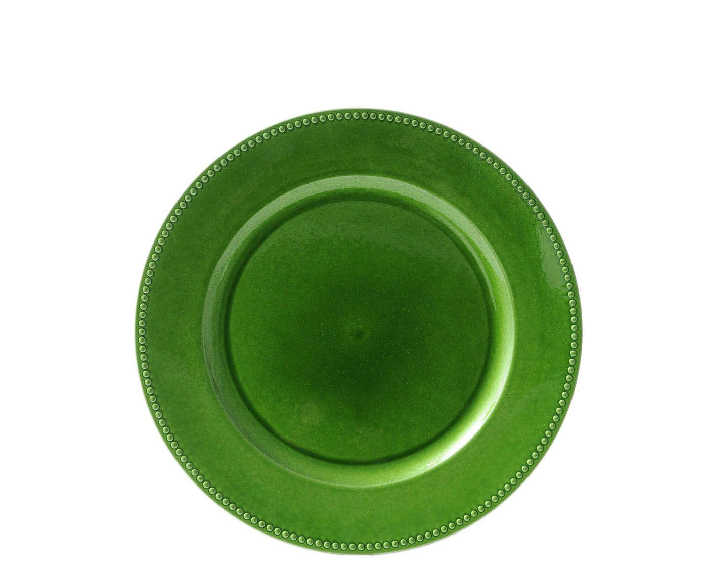 Sousplat Cloe Verde - 33cm | Westwing.com.br