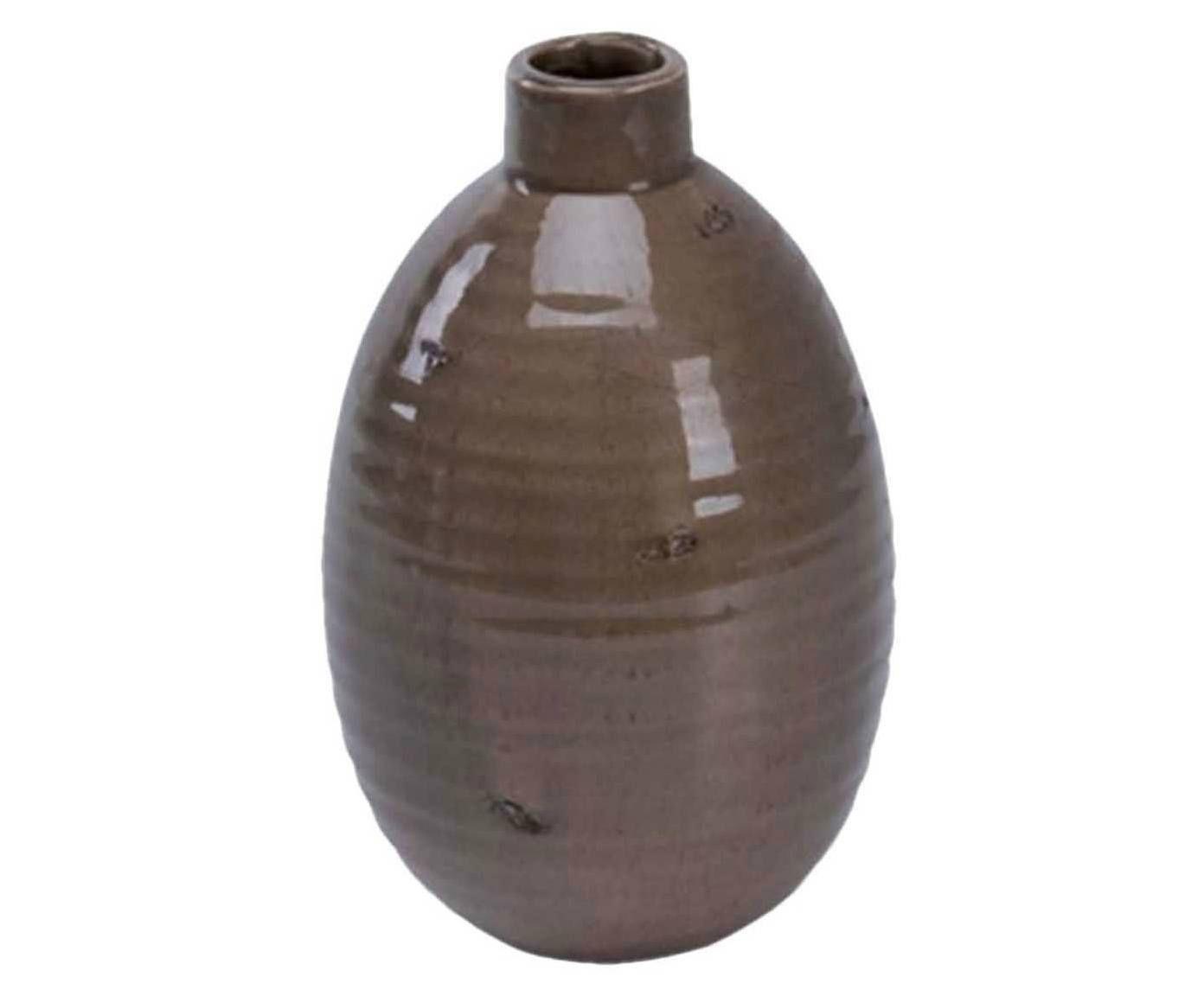 Vaso Bagile Marrom - 18cm | Westwing.com.br