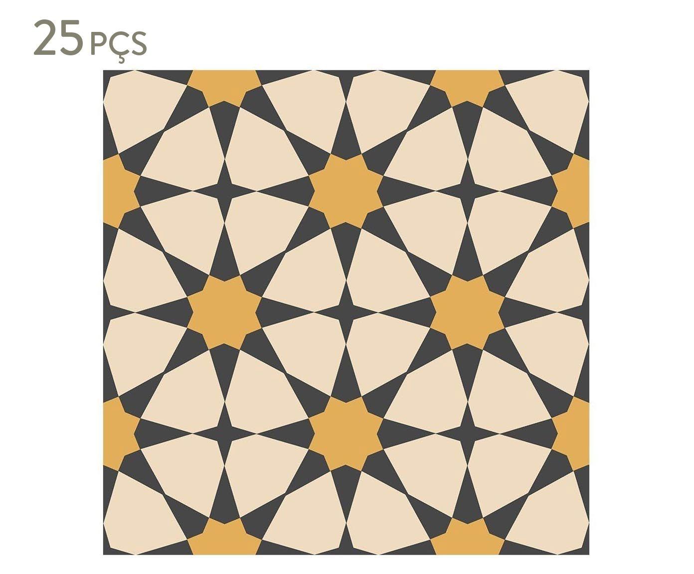 Conjunto de ladrilhos adesivos loren - 15x15cm | Westwing.com.br