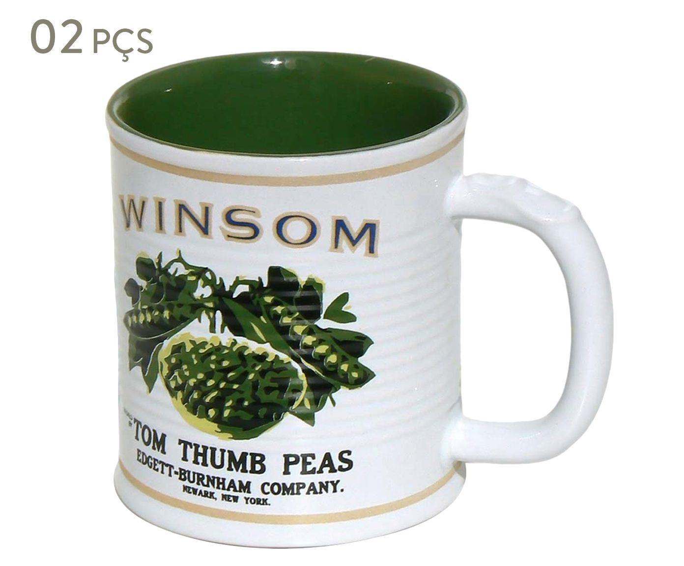 Conjunto de Canecas Espalier winsom - 350 ml | Westwing.com.br