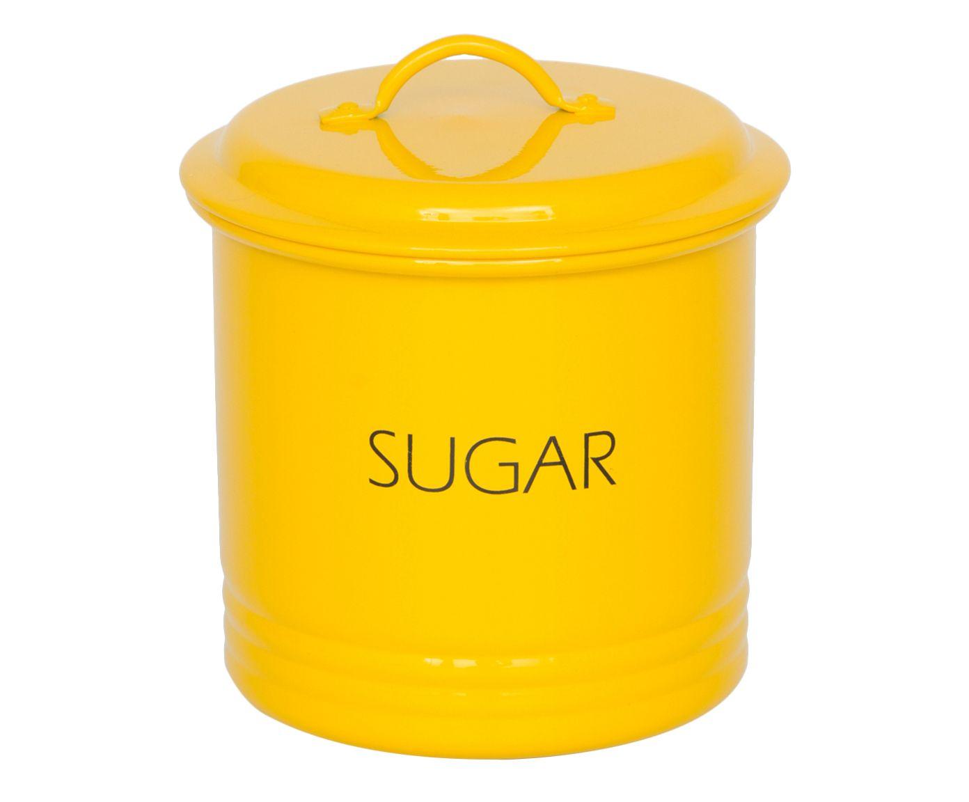 Jogo de Latas Canelas Tea&Sugar - Amarelo | Westwing.com.br