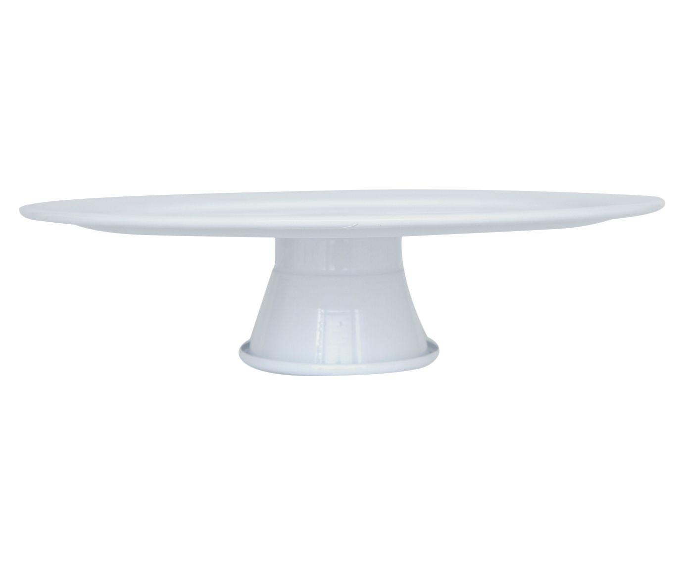 Prato para Doces Najoe Branco - 29cm   Westwing.com.br