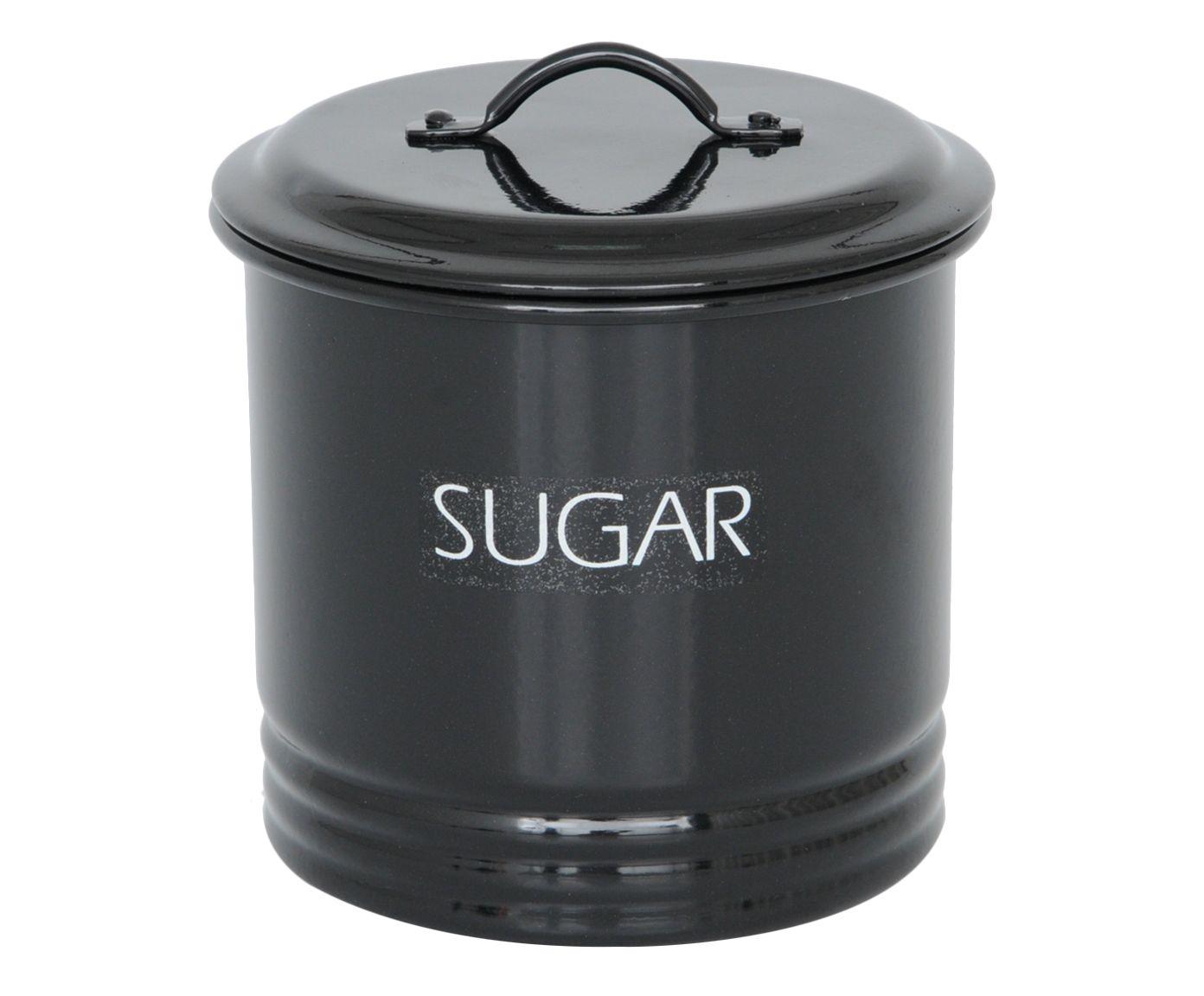 Lata Sugar Preta - 1,75L | Westwing.com.br