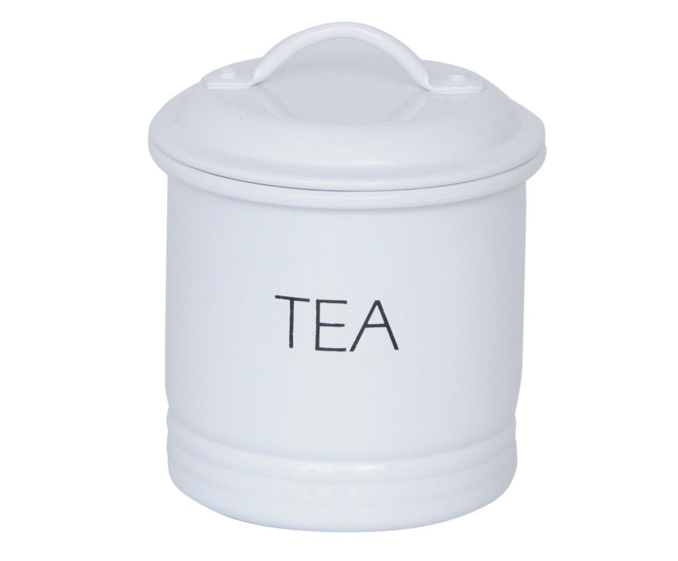 Lata Canelada Tea - Branca | Westwing.com.br
