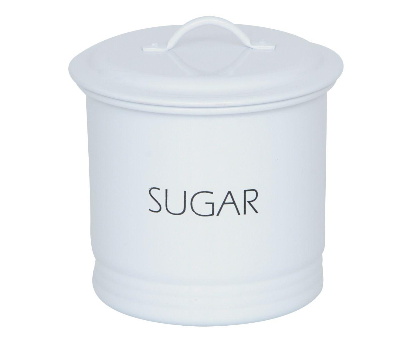 Lata Canelada Sugar - Branca | Westwing.com.br