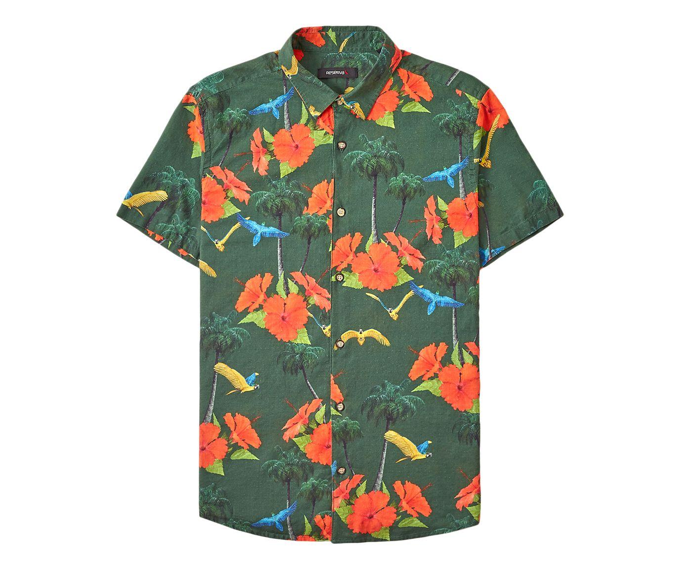 Camisa Malibu 3D Verde | Westwing.com.br