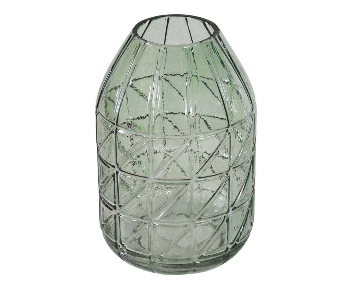 Vaso Alambil Verde - 12X20X12cm | Westwing.com.br