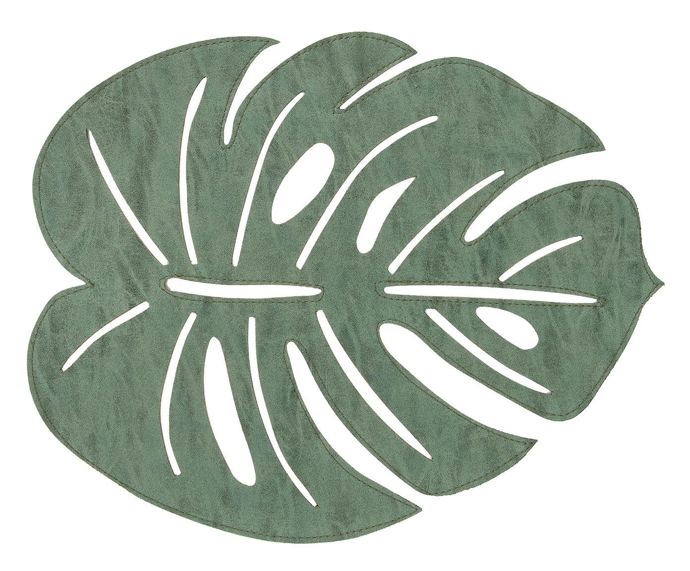 Lugar Americano Leaf Verde - 36X45cm | Westwing.com.br