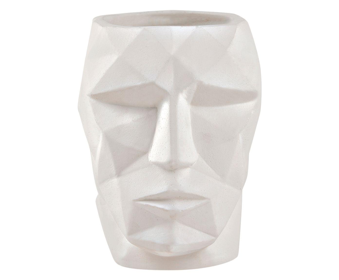 Cachepot Corin Branco - 16X12X16cm | Westwing.com.br