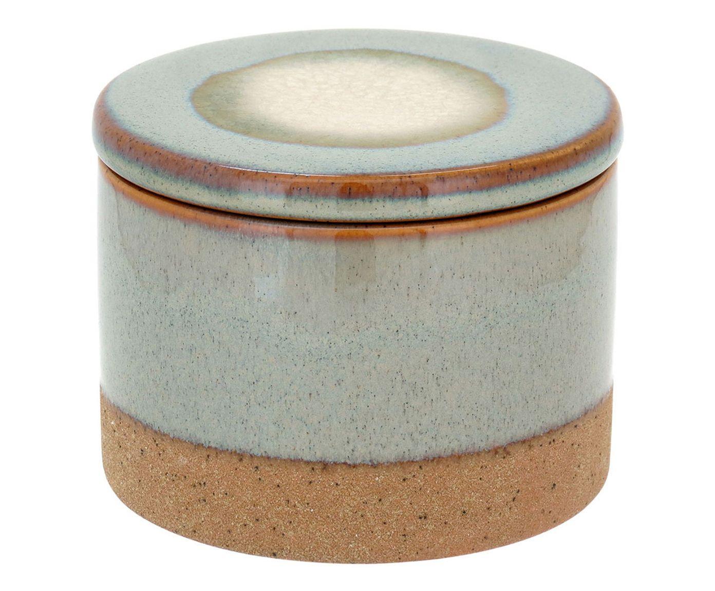 Pote Decorativo Lasse Mostarda - 12X9,5cm | Westwing.com.br