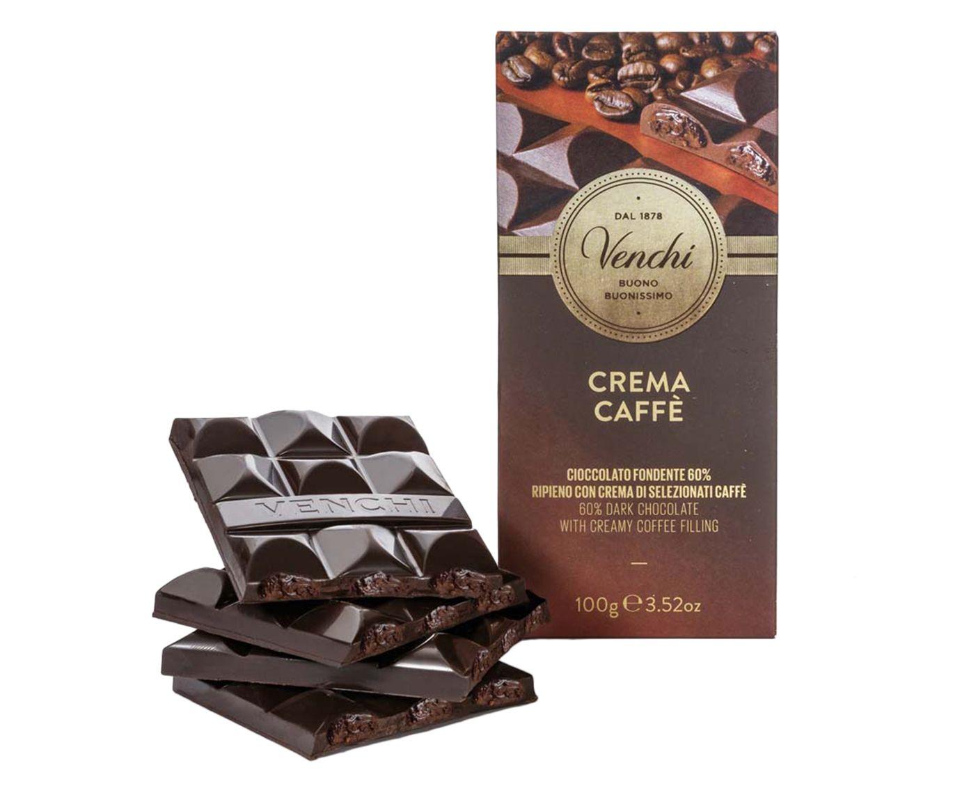 Barra de Chocolate com 60% de Cacau e Creme de Café - 100G   Westwing.com.br