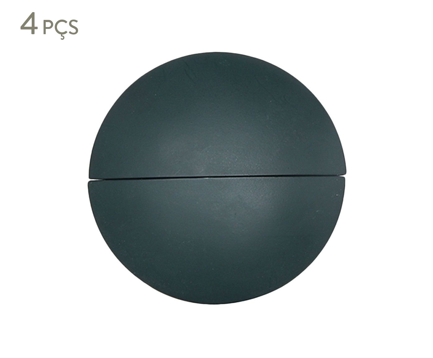 Jogo de Esferas Decorativas para Parede Circles Verde - 10cm | Westwing.com.br