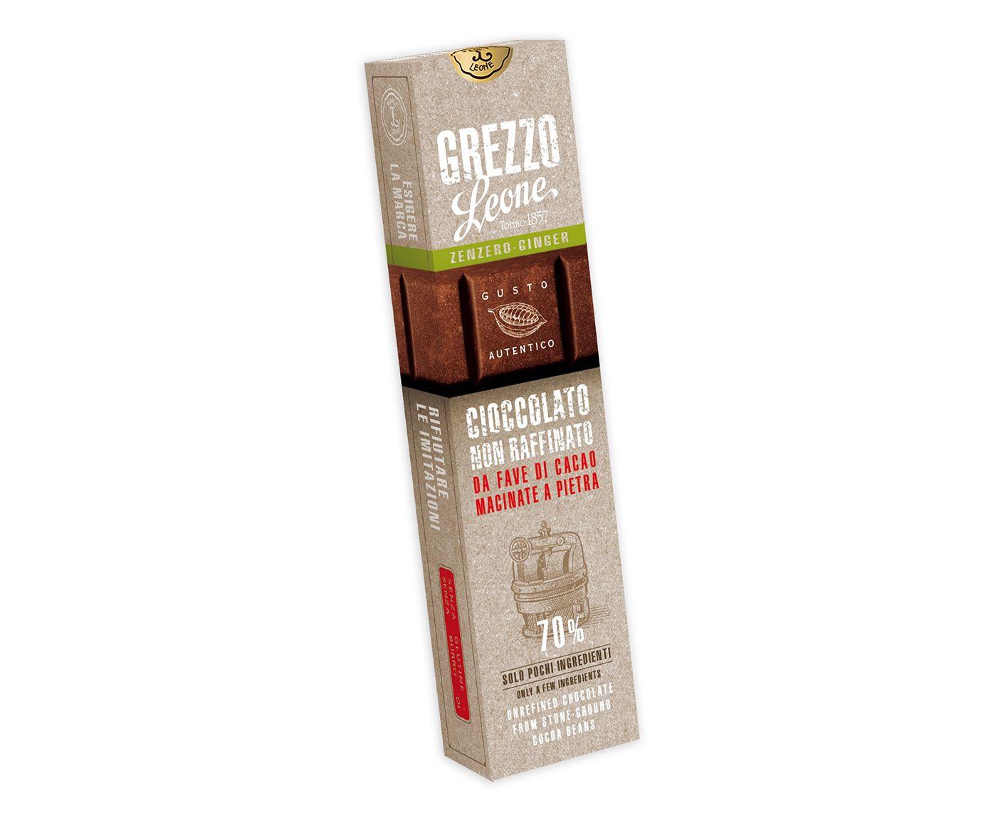 Barra de Chocolate 70% Cacau com Gengibre - 55G | Westwing.com.br