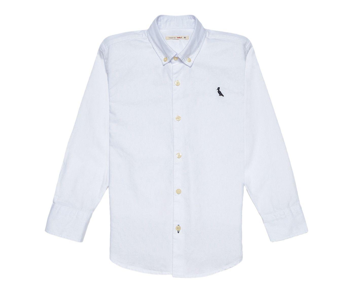 Camisa Infantil Reserva Mini Oxford Branca, 12 + | Westwing.com.br