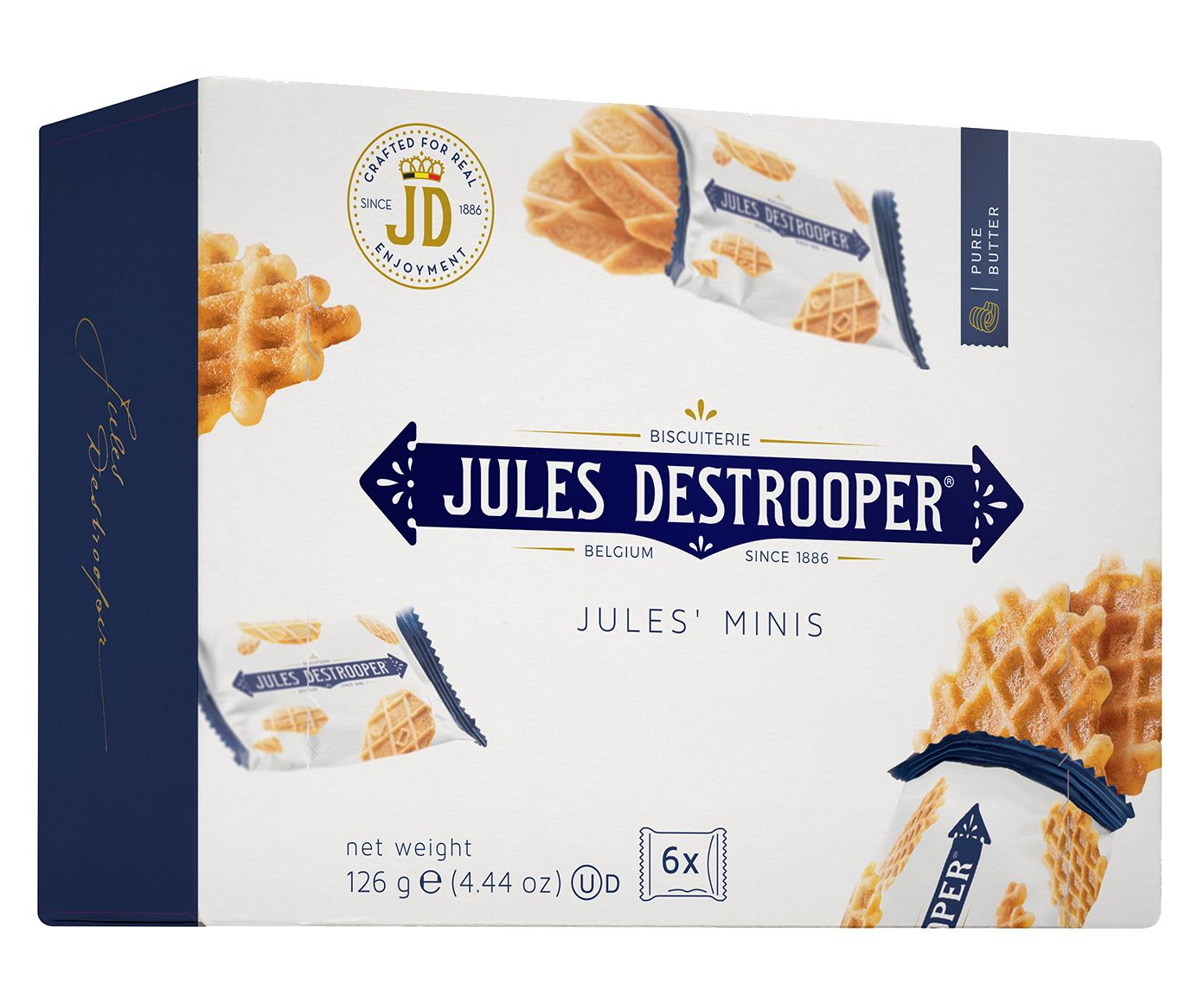 Biscoito Belga Jules D. Minis - 126G | Westwing.com.br