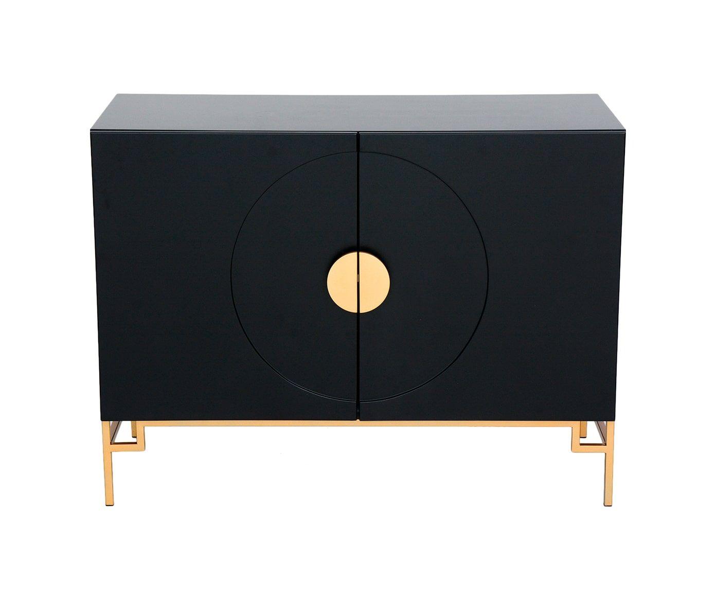 Buffet Sol Preto - 100X75X43,5cm   Westwing.com.br