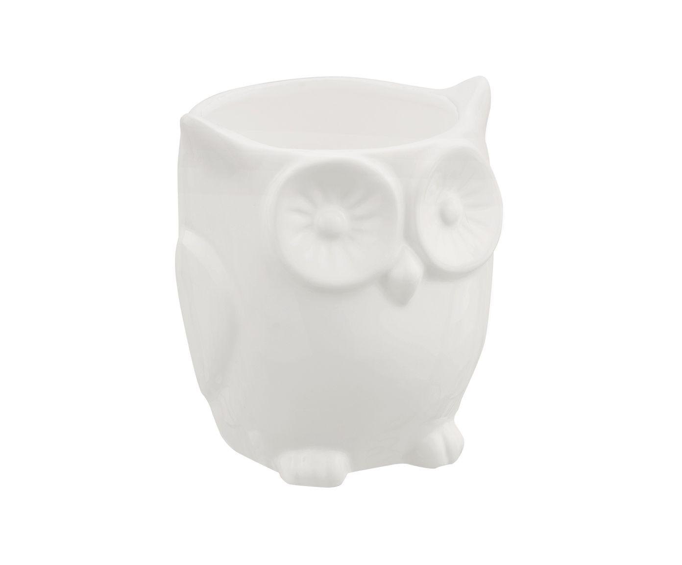 Cachepot Owl - 9,5X8,5cm | Westwing.com.br