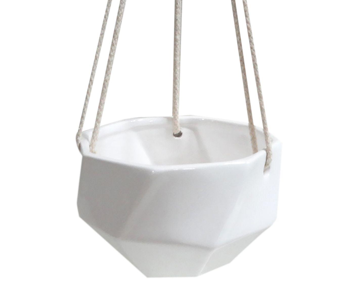 Hanger Octa Branco - 14X7X14cm   Westwing.com.br