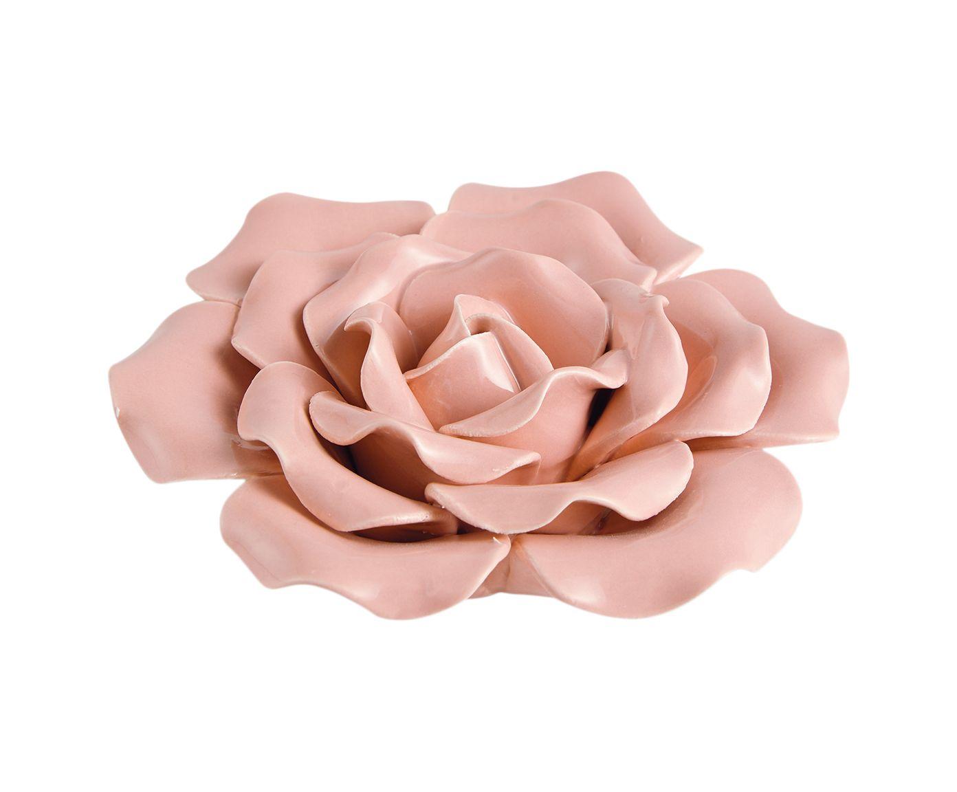Adorno Rass Rosa - 13X13cm   Westwing.com.br