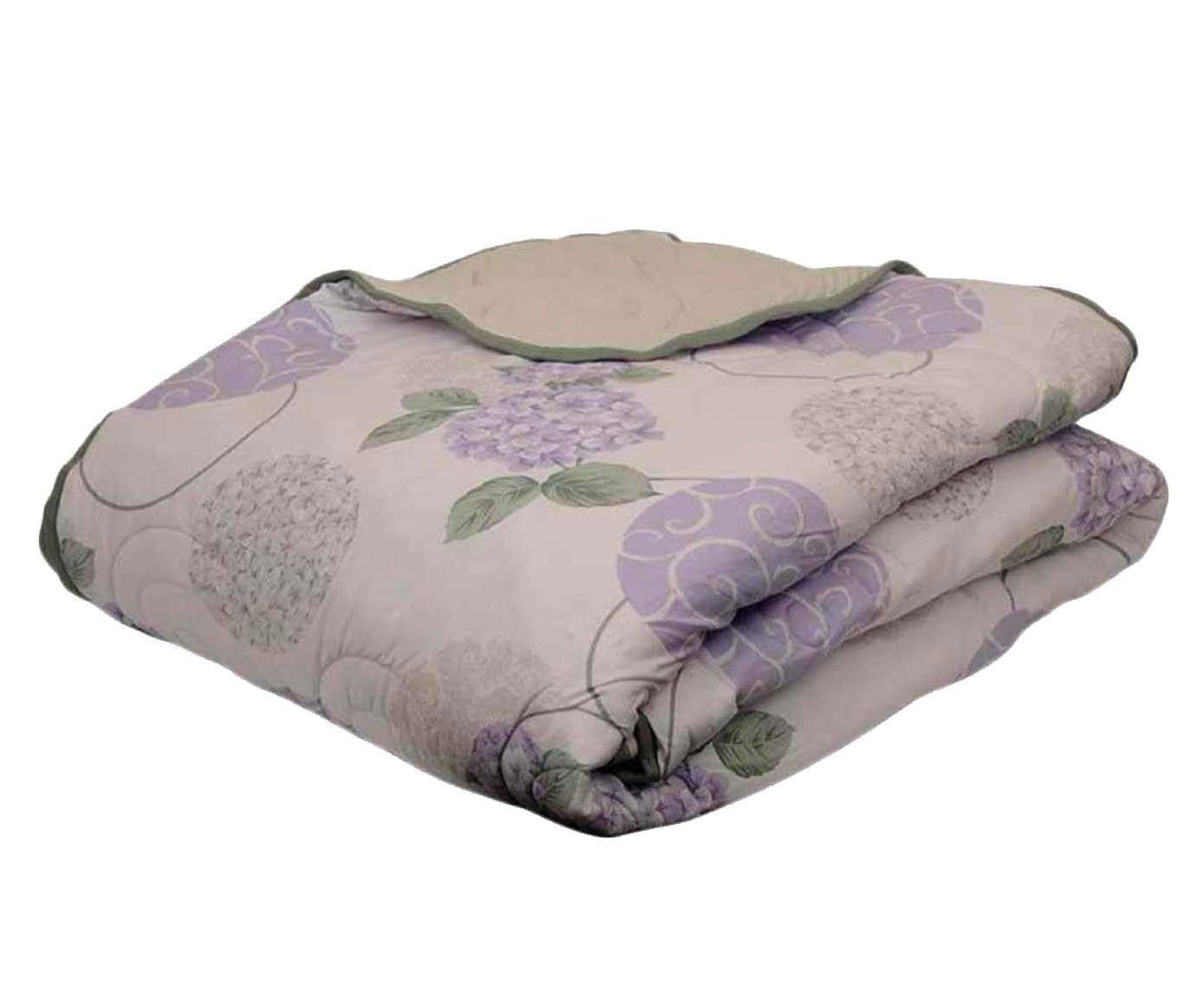 Edredom hortência - para cama de solteiro   Westwing.com.br