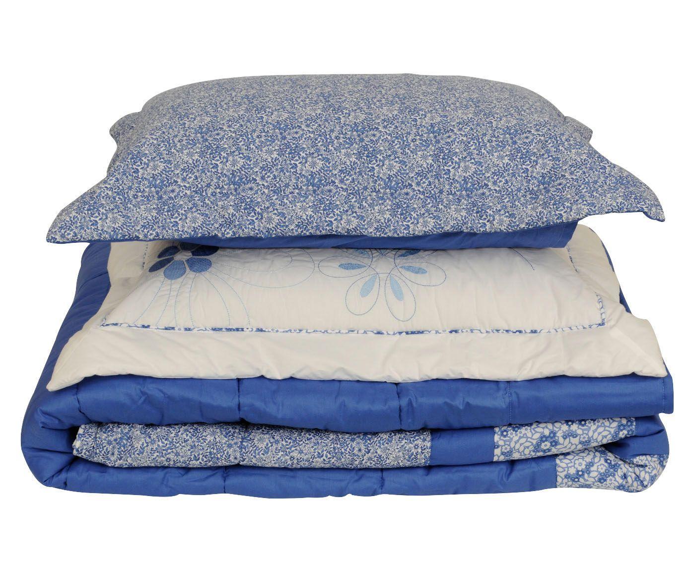 Jogo com colcha anis para cama queen size 200 fios   Westwing.com.br